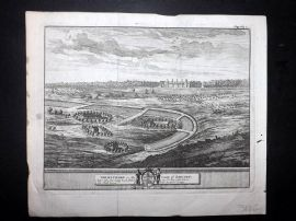 Van der Aa & Kip 1707 Antique Print. Grimsthorp, in the County of Lincoln.
